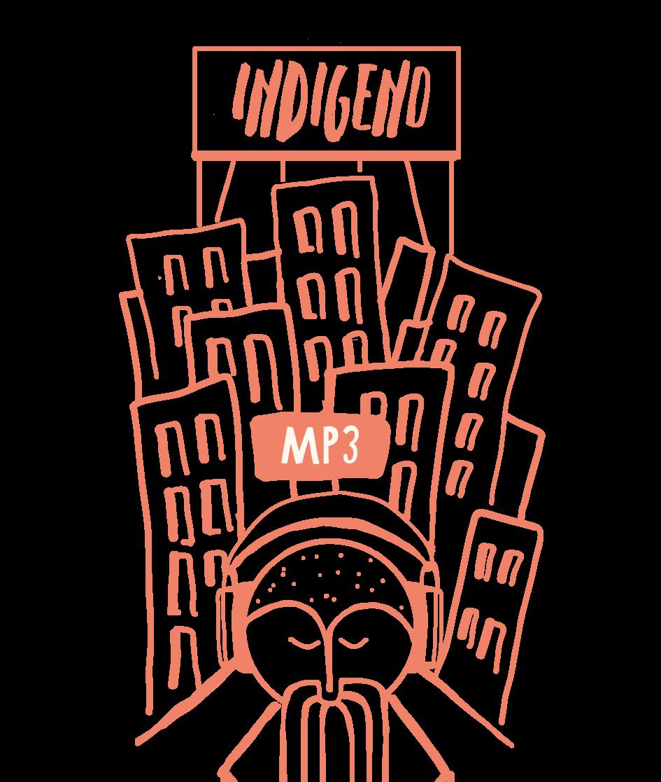 Etichetta Indigeno MP3-01