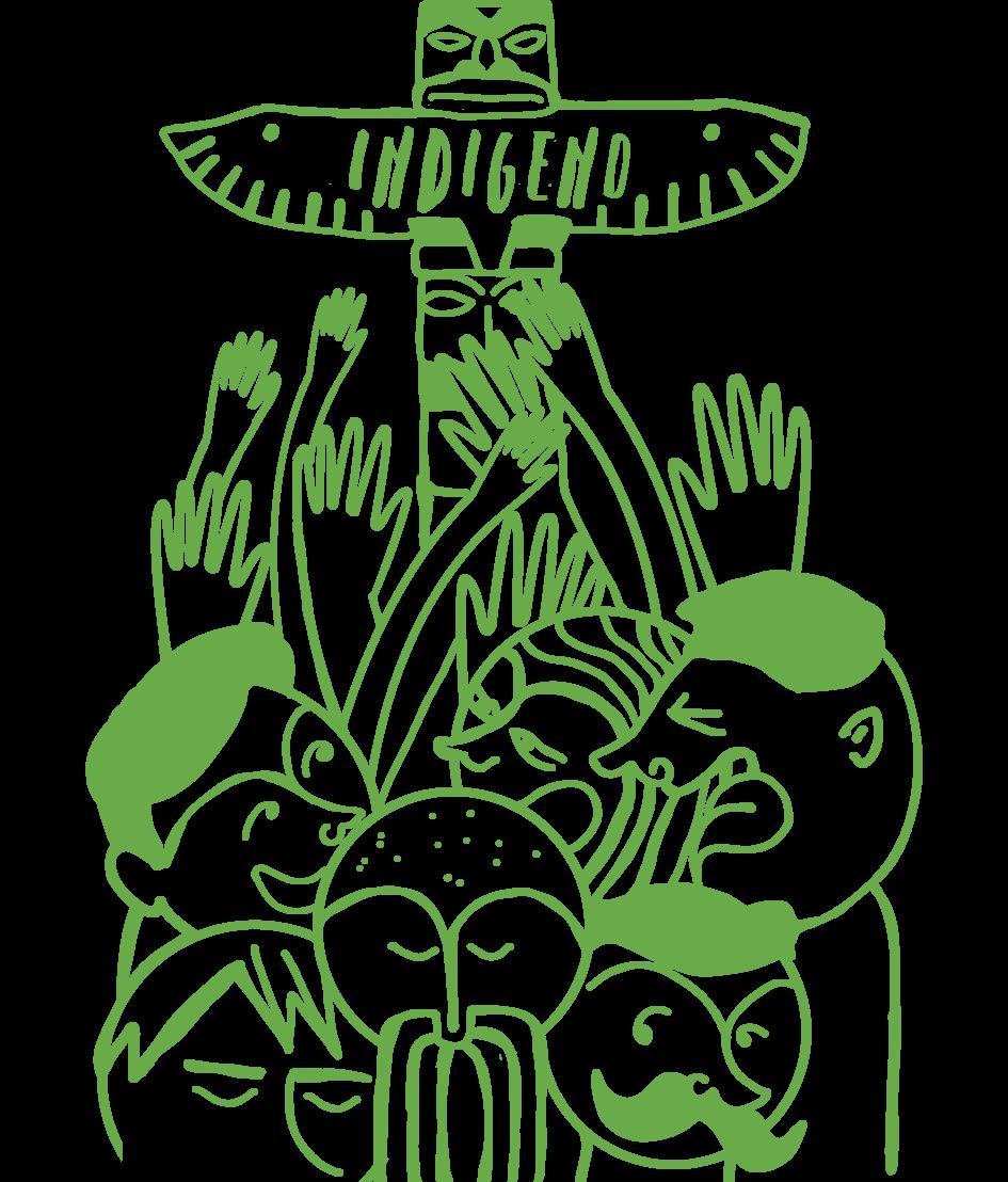 Etichetta Indigeno BIANCO B-01